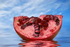 Luscious Pomegranate Royalty Free Stock Photo