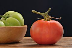 luscious tomat Arkivfoton
