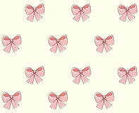 Lush bow. Vector drawing Royalty Free Stock Photography