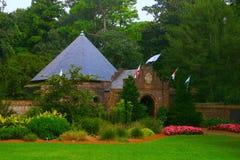 Lush Garden. Beautiful lush garden found on Roanoke Island Royalty Free Stock Image