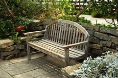 Lush green garden Stock Image