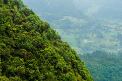 Lush Hill and Valley Royalty Free Stock Photo