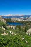 Lush mountain lake area - Yosemite National Park royalty free stock photos