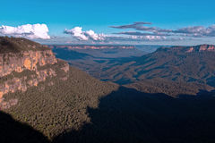Lush mountain landscape, Australia Royalty Free Stock Photography
