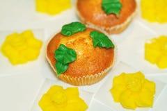 Lush muffins Royalty Free Stock Photo
