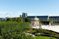 Lush Parisian courtyard Stock Images
