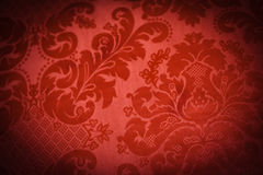 Lush Red Sofa Royalty Free Stock Photography