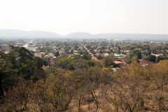 A lush suburb of Pretoria, South Africa. Stock Photo