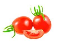 Lush  tomatoes . Stock Photos