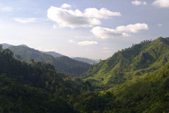Lush Valley, Mindanao, Philippines Royalty Free Stock Photos