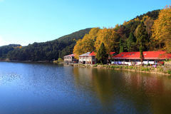 Lushan in autumn Royalty Free Stock Images
