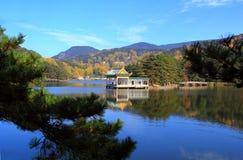 Lushan in autumn Stock Photos