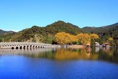 Lushan in autumn Stock Photo