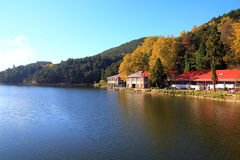 Lushan in autumn Stock Photography