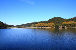 Lushan in autumn Royalty Free Stock Image
