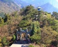 Lushan in autunno Fotografia Stock