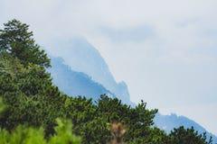 Lushan góry Zdjęcia Stock