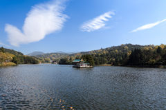 Lushan lake Stock Photography