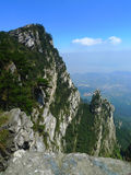 Lushan mountains Royalty Free Stock Photos