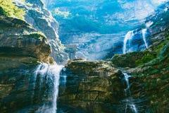 LUSHAN-Watervallen Stock Afbeeldingen