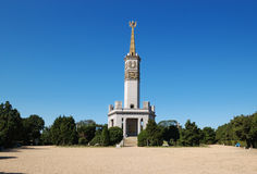 Lushun port (Port Arthur)Soviet Red Army monument Royalty Free Stock Photo