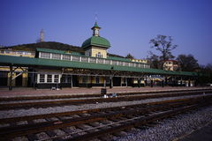Lushun railway station Stock Photography
