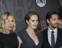 Lusia Strus, Michelle Dockery, Juan Diego Botto Stock Photo