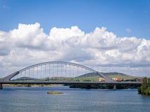 Lusitania Road Bridge in Merida, Spain Stock Photo