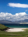 Luskentyre bay on Harris Royalty Free Stock Photography