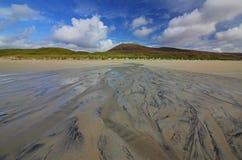 Luskentyre beach, Isle of Harris, Scotland royalty free stock photography