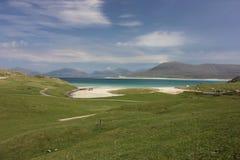 Luskentyre beach, Isle of Harris, Scotland Royalty Free Stock Photos