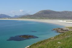 Luskentyre, Harris royalty free stock image