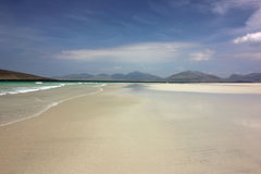 Luskentyre strand, ö av Harris, Skottland Royaltyfria Bilder