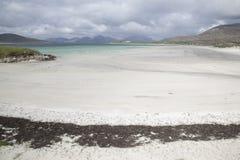 Luskentyre strand royaltyfria foton
