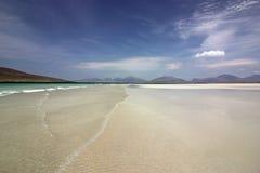 Luskentyre-Strand, Insel von Harris, Schottland Lizenzfreie Stockbilder