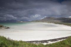 Luskentyre strand, Isle av Harris arkivbilder