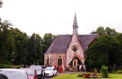 Luss Parish Church in a village in Scotland. Stock Images