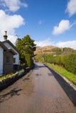 Luss village Loch Lomond Scotland UK Stock Image