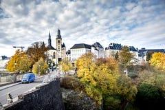 Lussemburgo-città, anche così bella in autunno 2/2! fotografia stock