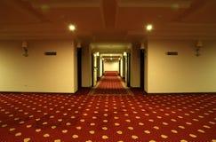 lusso dell'hotel del corridoio Immagini Stock