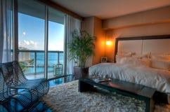 lusso della camera da letto Immagini Stock