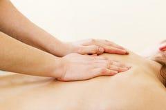 Lusso di massaggio della spalla Fotografia Stock Libera da Diritti