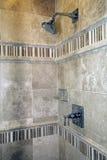 lusso domestico della stanza da bagno fotografia stock libera da diritti
