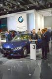 Lusso internazionale del salone dell'automobile di BMW 316i Mosca Immagine Stock Libera da Diritti