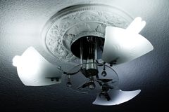 Luster on ceiling Stock Photo