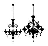 Luster Chandelier Vector 06 Stock Images
