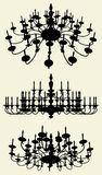 Luster Chandelier Vector 12 Stock Photography