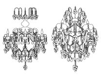 Luster Chandelier Vector 24 Stock Photo