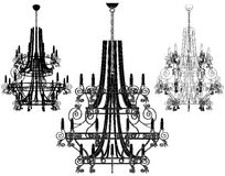 Luster Chandelier Vector 39 Royalty Free Stock Images