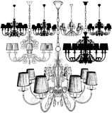 Luster Chandelier Vector 41 Royalty Free Stock Image